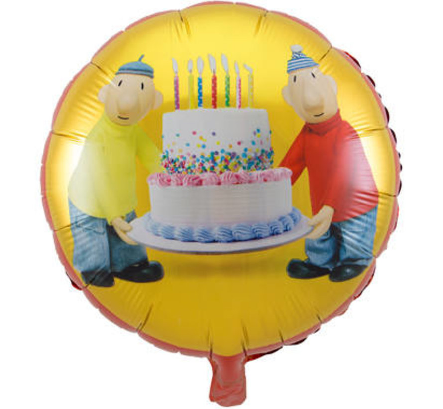 Buurman & Buurman Folieballon 45cm - per stuk