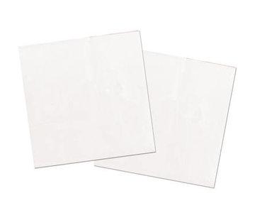 Witte Servetten - 20 stuks