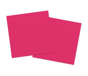 Roze Servetten - 20 stuks
