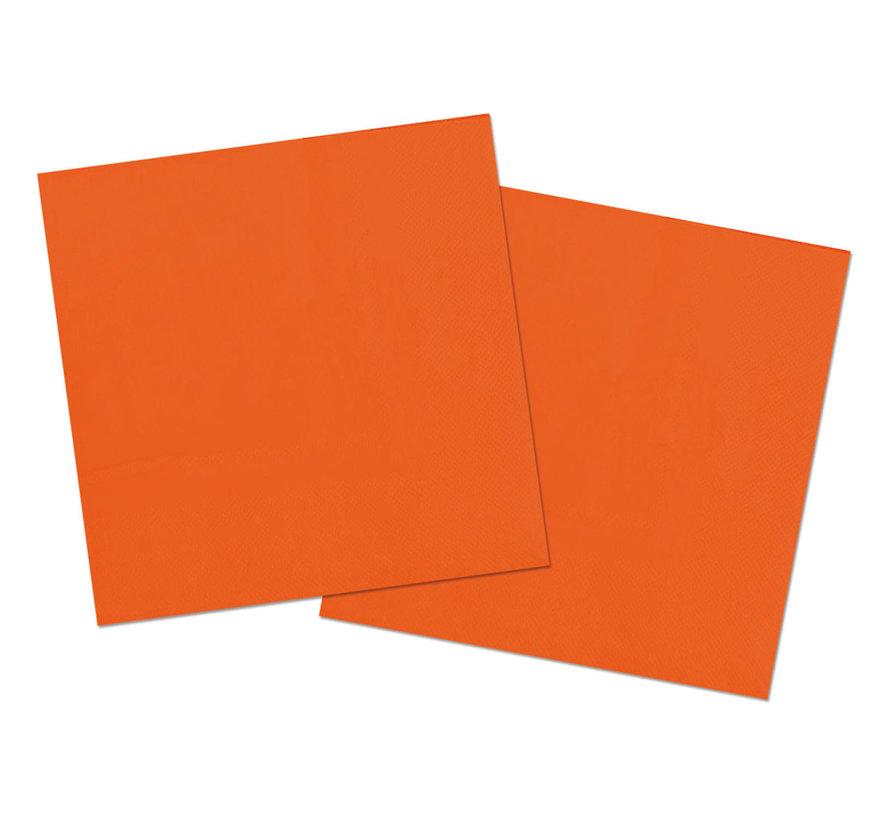 Oranje Servetten - 20 stuks