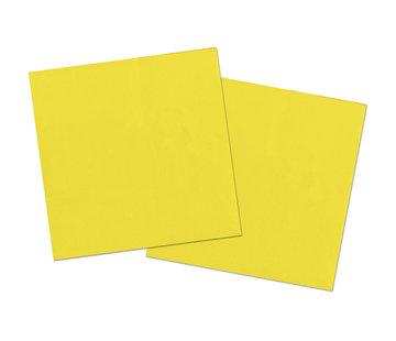 Gele Servetten - 20 stuks