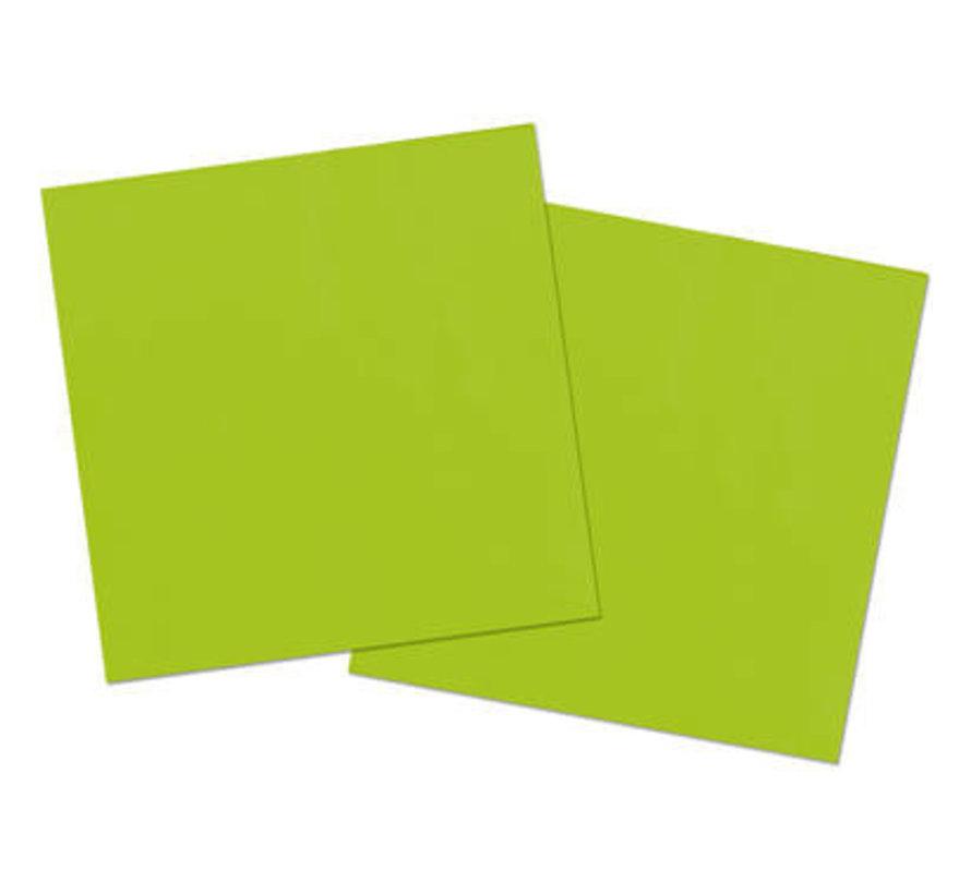 Groene Servetten - 20 stuks