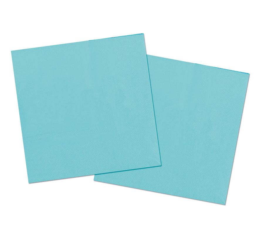 Baby Blauwe Servetten - 20 stuks