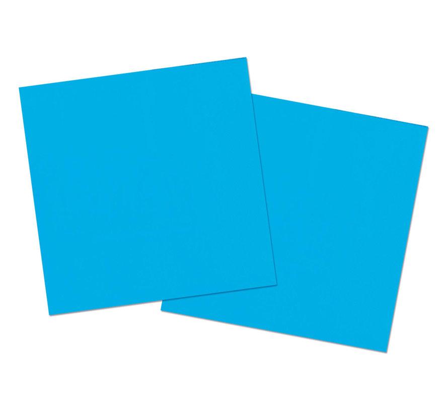 Blauwe Servetten - 20 stuks