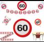 Feestpakket Verkeersbord 60 jaar - per stuk