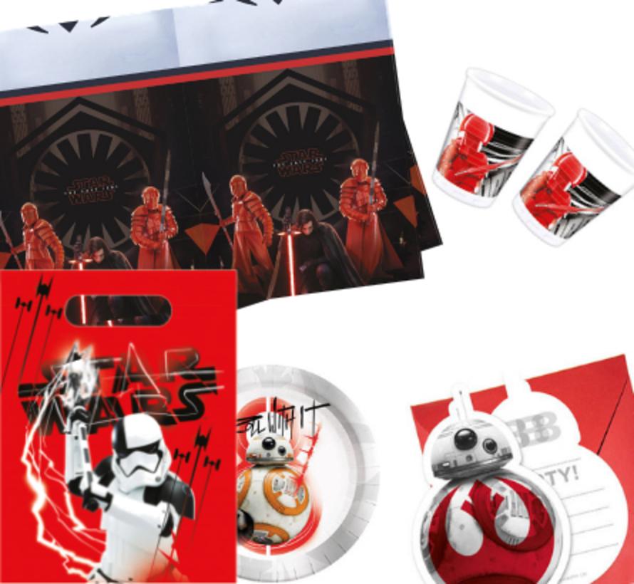 Feestpakket Star Wars The Last Jedi - per stuk