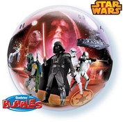 Star Wars Bubbles Folieballon 56cm - per stuk
