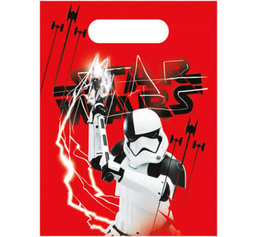 Star Wars The Last Jedi Uitdeelzakjes - 6 stuks