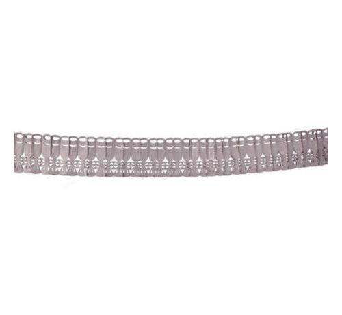 Papieren Champagne Slinger Zilver - 3 meter