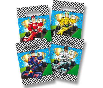Formule 1 Uitdeelzakjes - 8 stuks