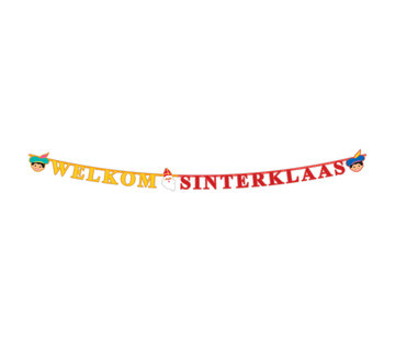 Sint en Piet Letterslinger - 2,30 meter