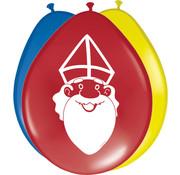 Sinterklaas Ballonnen 30 cm - 8 stuks