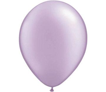 Lavendel Paarse Metallic Ballonnen 30cm - 10 stuks