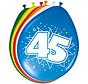 45 Jaar Ballonnen 30cm - 8 stuks