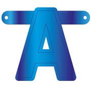 Letterslinger A Blauw