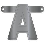 Letterslinger A Metallic Zilver