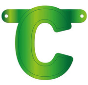 Letterslinger C Lime Groen