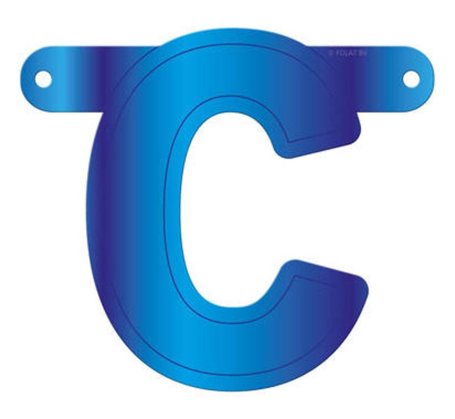 Letterslinger C Blauw