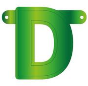Letterslinger D Lime Groen