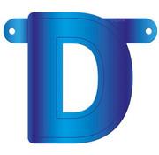 Letterslinger D Blauw