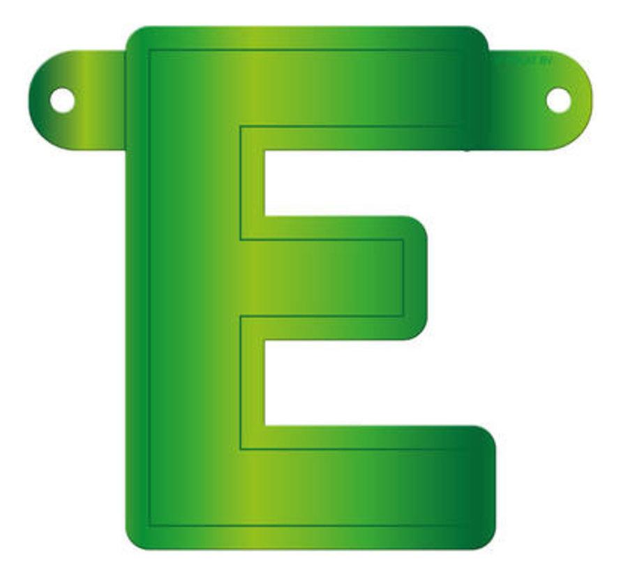 Letterslinger E Lime Groen