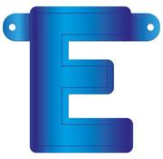 Letterslinger E Blauw