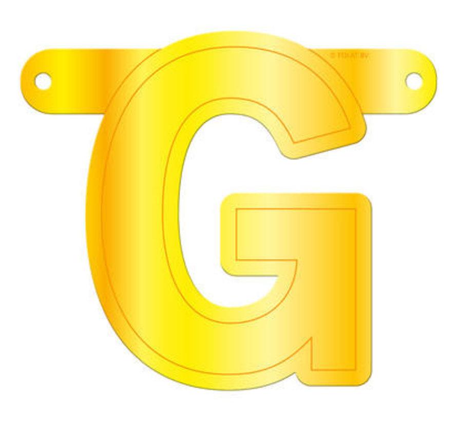 Letterslinger G Geel