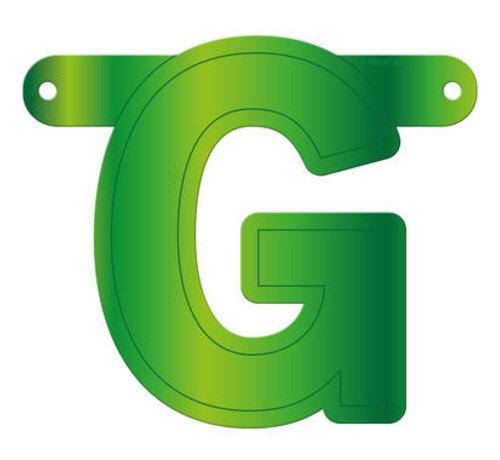 Letterslinger G Lime Groen