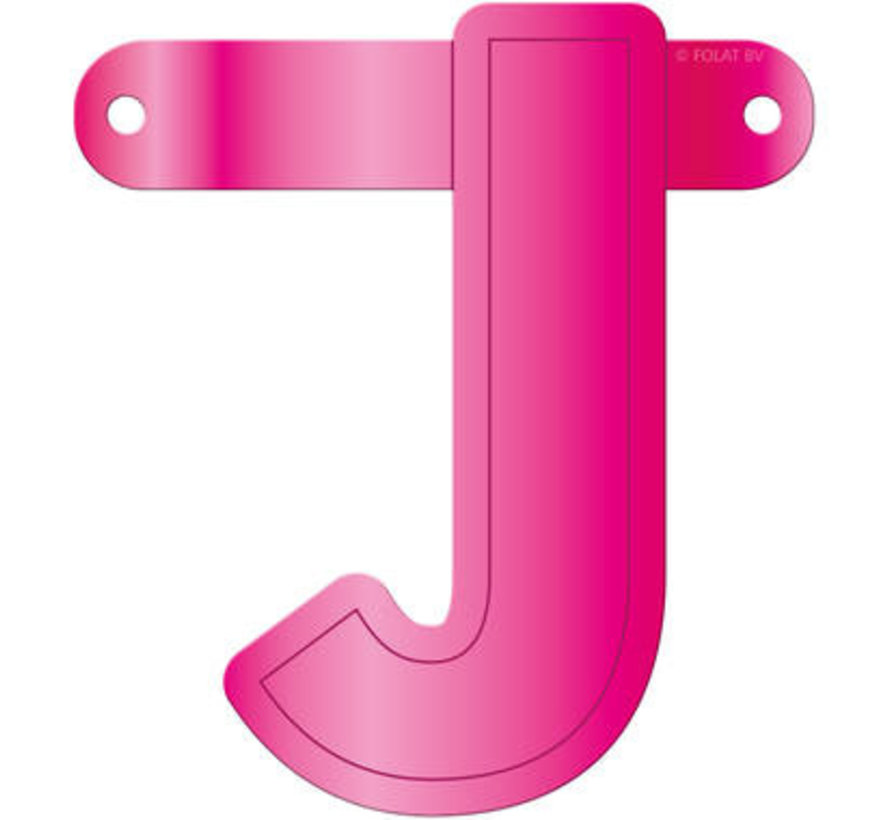 Letterslinger J Magenta