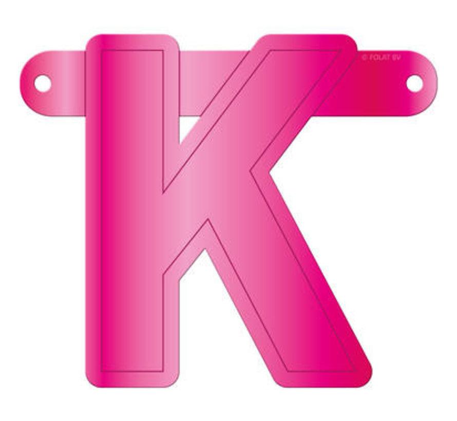 Letterslinger K Magenta