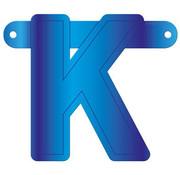 Letterslinger K Blauw
