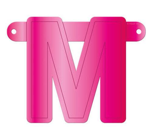Letterslinger M Magenta