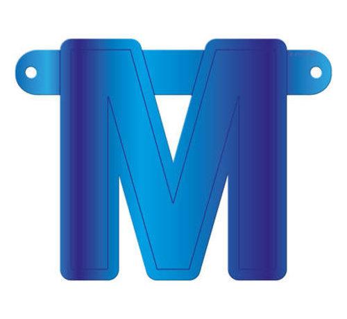 Letterslinger M Blauw