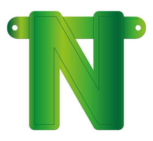 Letterslinger N Lime Groen