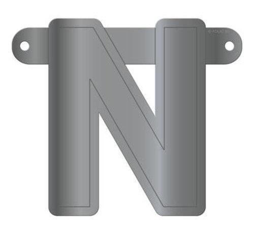 Letterslinger N Metallic Zilver