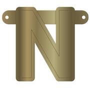 Letterslinger N Metallic Goud