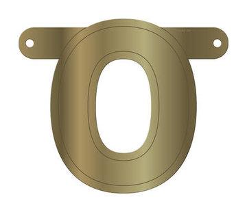 Letterslinger O Metallic Goud