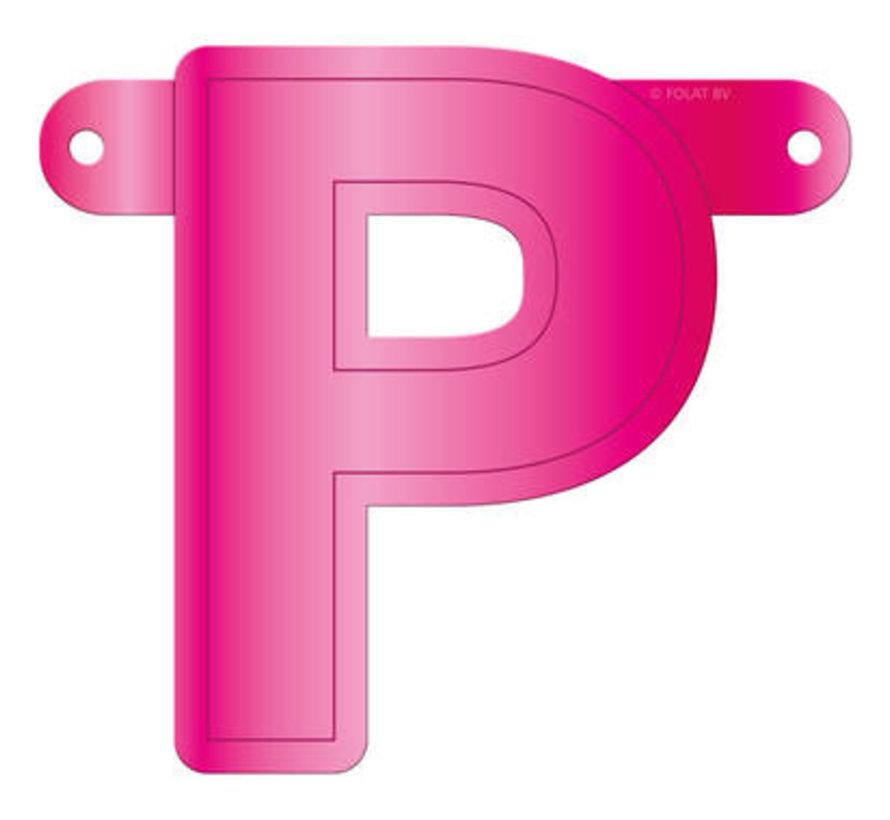 Letterslinger P Magenta