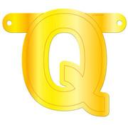 Letterslinger Q Geel