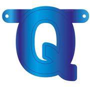 Letterslinger Q Blauw