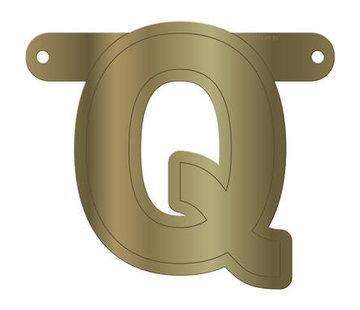 Letterslinger Q Metallic Goud