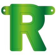 Letterslinger R Lime Groen