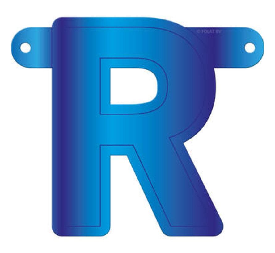 Letterslinger R Blauw