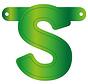 Letterslinger S Lime Groen