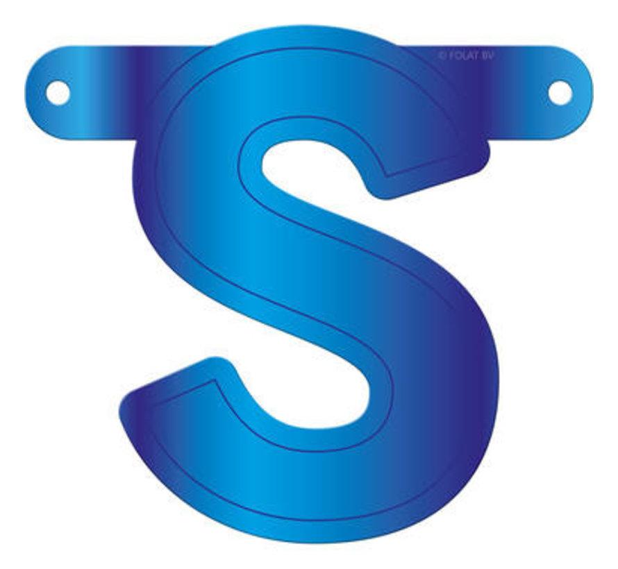 Letterslinger S Blauw