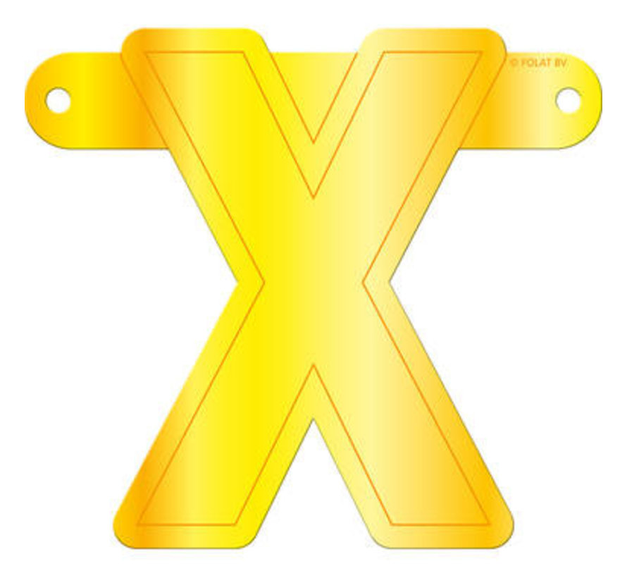 Letterslinger X Geel