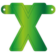 Letterslinger X Lime Groen