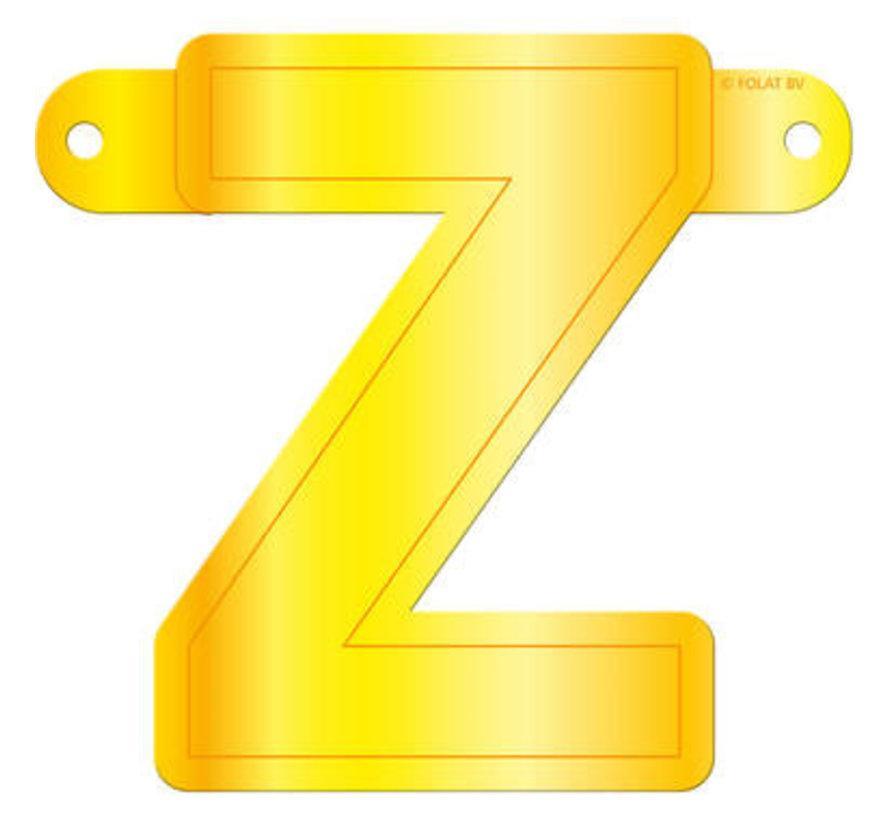 Letterslinger Z Geel