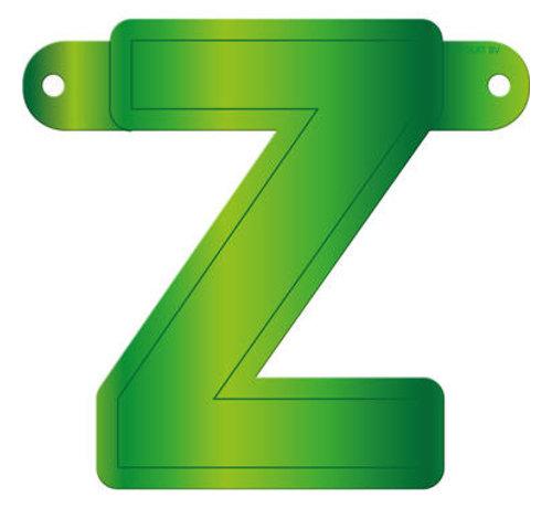 Letterslinger Z Lime Groen