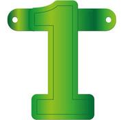 Letterslinger 1 Lime Groen